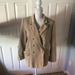 - Women's Size 10 whales cord jacket